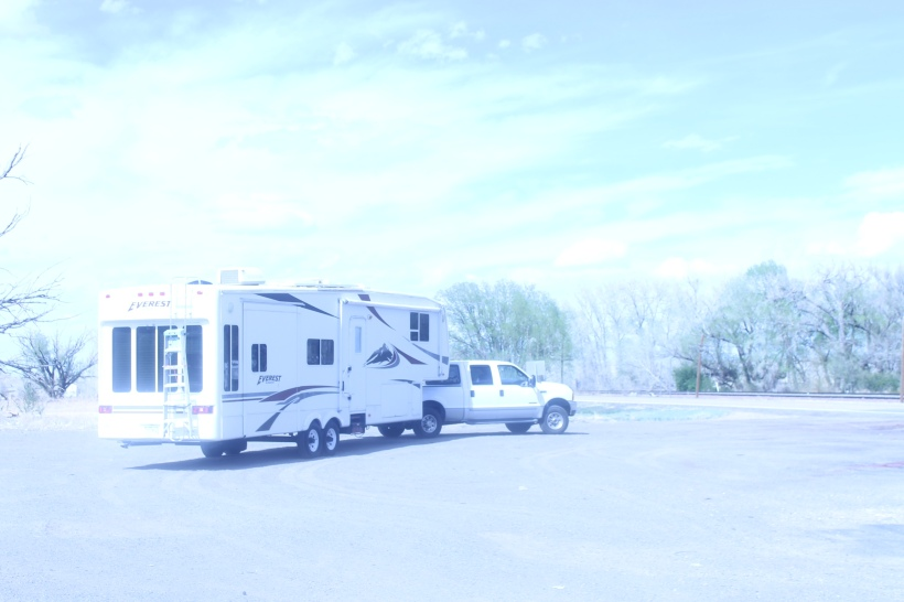Rv and Truck