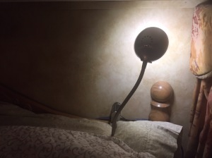 Headboard LED lamp